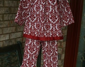 Girls Boutique Holiday Demask set   on SALE  2t