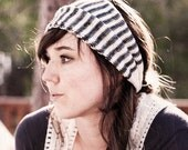 KNITTING PATTERN Stripes Head Wrap PDF