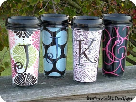 Custom Travel Coffee Mug DESIGNED BY YOU