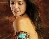 Indian Princess Fringe Arm Band / Bracelet