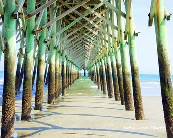 Fishing Pier, Folly Beach SC Photograph