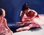 Dance Print - A Circle of Dreams