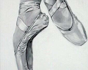 Ballet Print - On Pointe