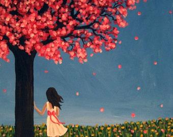 Print - Under the Cherry Tree