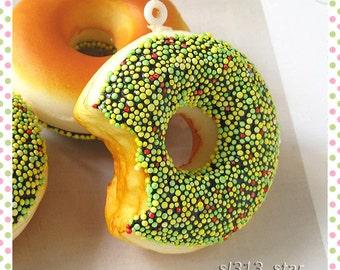 1pc of Yummy Kawaii Harajuku Donut Pendant, DT-17