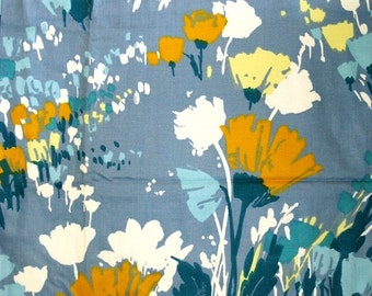 Upholstery Fabric Abstract Flower Design 46 x 68