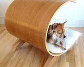 Small Dog Pod - cherry dog bed