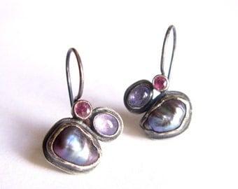 Pearl earrings - Urban Primadonna