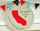 My Heart Belongs In......California - U.S.A.