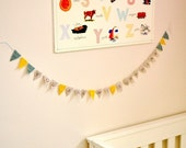 Mini Pennants - Tiny Bunting Flag Decoration - You Are My Sunshine
