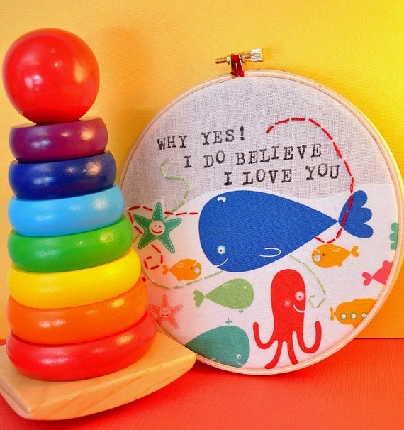 Why Yes I Do Believe I Love You - A Special Gift