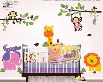 Jungle wall decal - Bananafish Jungle wall decal, Jungle/Safari wall stickers