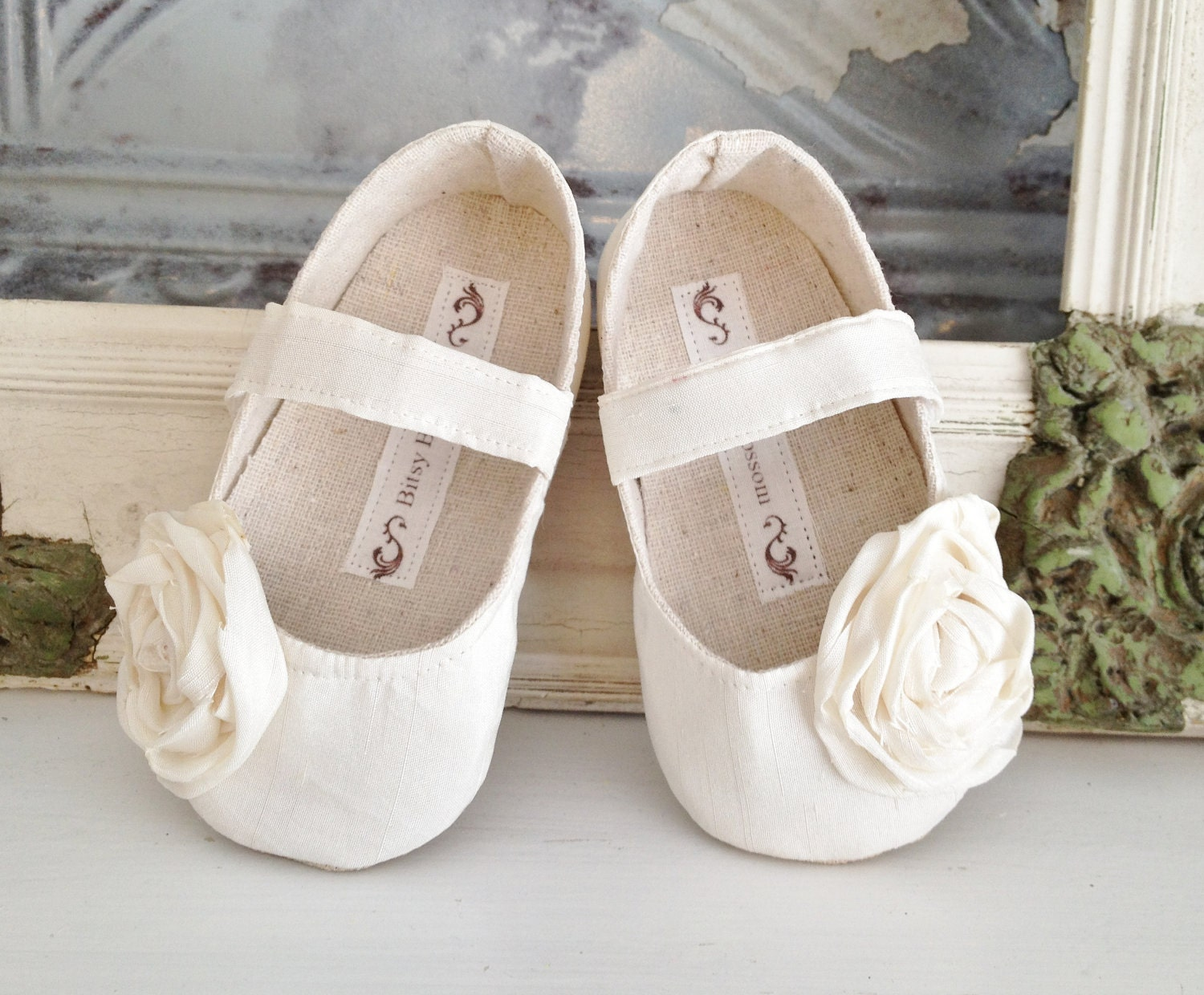 Toddler Shoes Soft Soled Ivory Cream Sizes 57 by BitsyBlossom - omg, these are so cute! Find this Pin and more on Flower Girl Shoes Ivory by Shopping Best Finds. Our Ivory Cream toddler shoes are perfect for the flower girl in your wedding or for any other special occasion.
