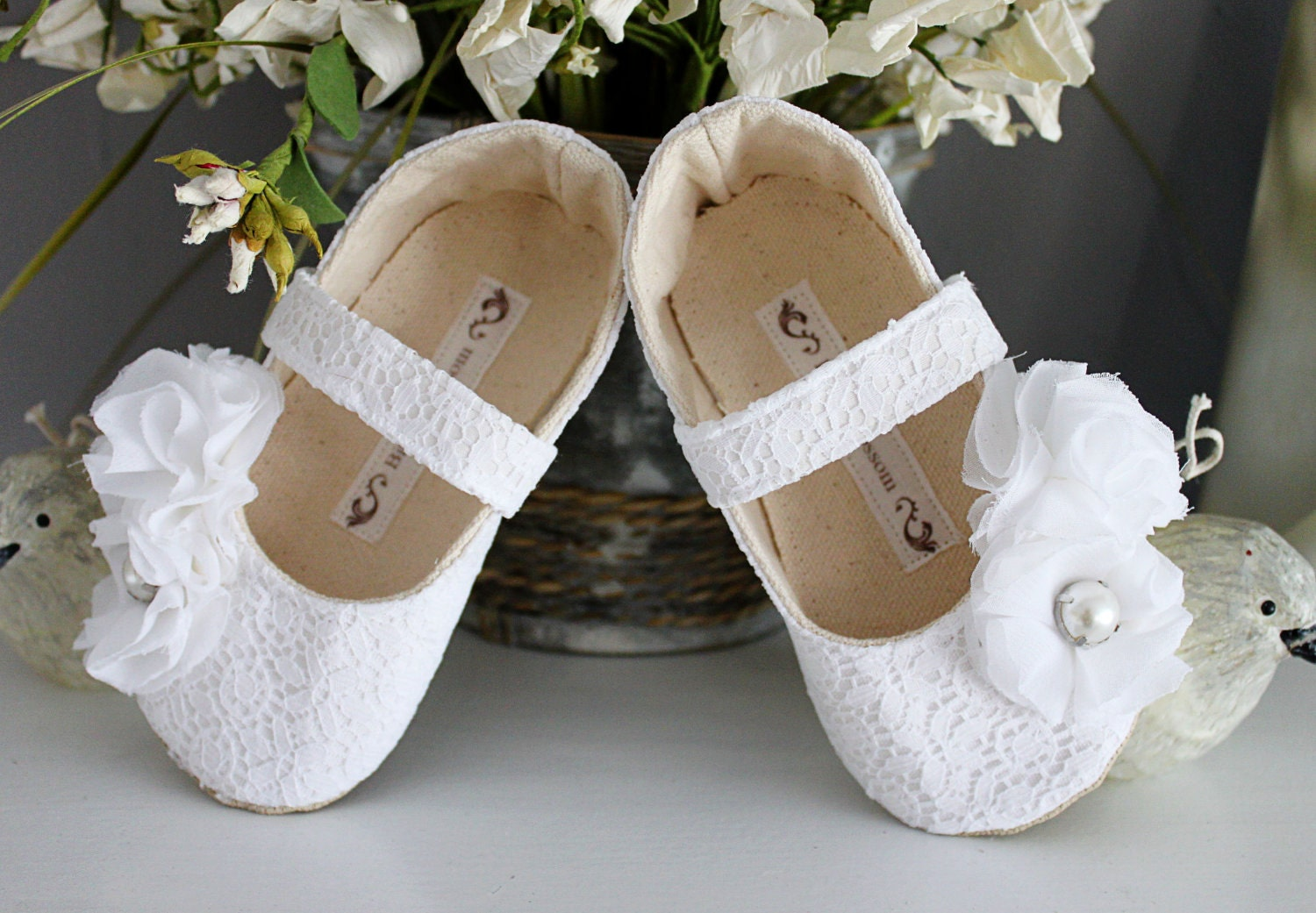 Ivory Flower Girl Shoes Australia