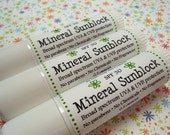 Mineral Stick, No Fragrance, No Chemicals