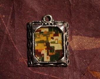 Autumn Shades- Original Art Necklace