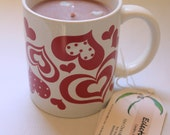 CLEARANCE Valentine's Hot Chocolate Candle