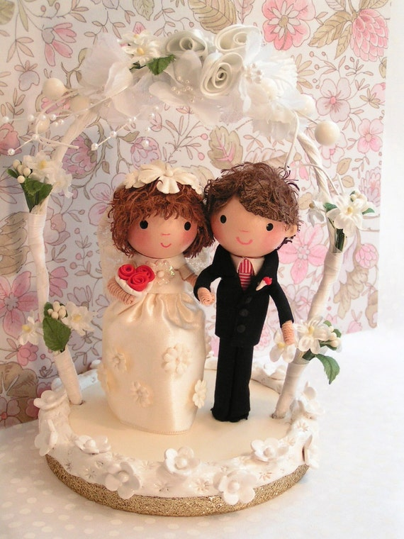 Sample--Wedding Couple CakeTopper