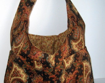 Trendy Paisley Reversible Bag