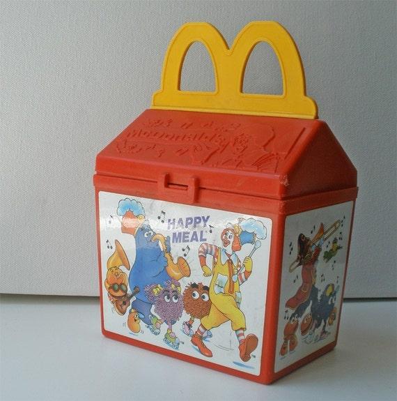 Vintage Happy Meal Nugget Toy Set 1989