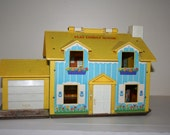 Vintage Fisher Price Little People House