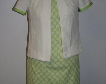 Vintage 1960s Suit Dress