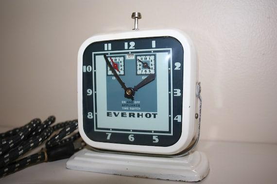 1930's Everhot Clock Timer