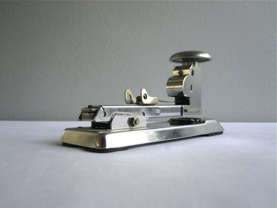 Industrial Metal Boeing Pilot Stapler