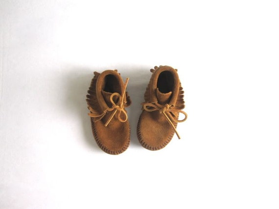 Baby Fringe Bootie Moccasins