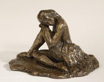 Dancer at rest- an original bronze sculpture