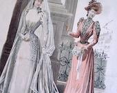 French lithography, Le Salon de la Mode
