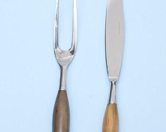 serving Folk and knife retro vintage danish modern Dixon