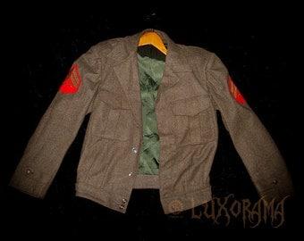 us marine corp. 1957 uniform Eisenhower jacket