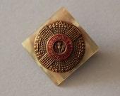 Vintage Regimental Sweetheart Brooch, Scots Guards
