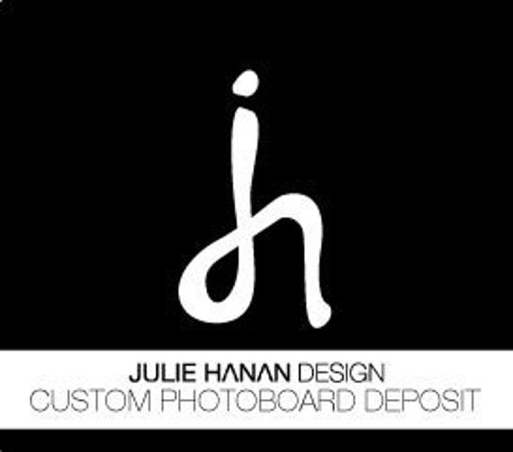 Custom Photo Placecard Board - DEPOSIT