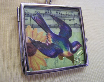 L584 Life is a Song Pendant