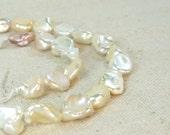 SALE Multicolor Keshi Pearl Bead Full Strand