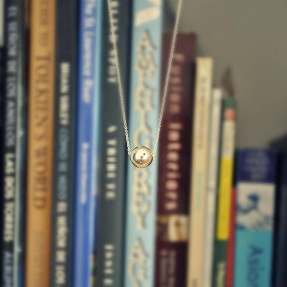 The Tiny Meteorite Necklace