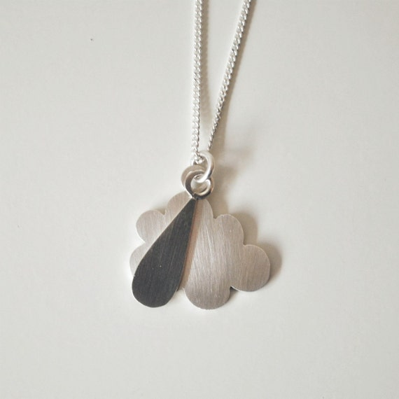 Rainy Day Sterling Silver Necklace