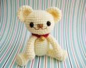 Instant Download PDF  amigurumi crochet pattern teddy bear -Milo,anime,welcome to sell the finished item
