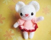 Instant Download PDF amigurumi crochet pattern teddy bear anime  Polly crochet,welcome to sell finished item
