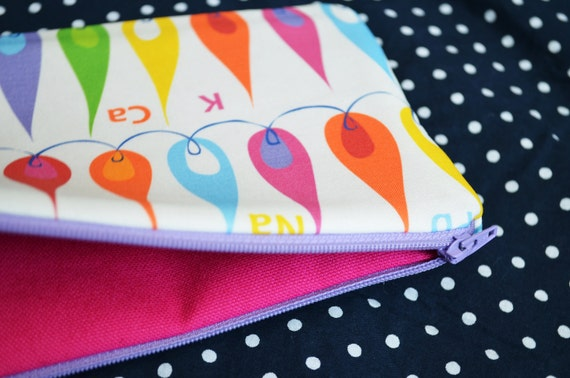 Flame Test Zippered Pouch