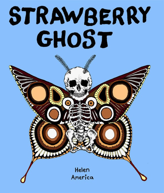 Strawberry Ghost comic book - surreal short stories