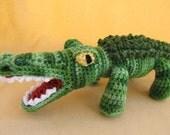 Crunch the Alligator Crochet Amigurumi Pattern