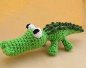 Ally Gator Crochet Amigurumi Alligator Pattern