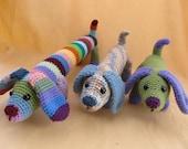Fetch the Dog Crochet Amigurumi Pattern