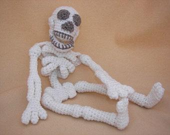 Make Your Bones Skeleton Crochet Amigurumi Pattern