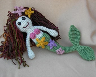 Myra Mermaid Crochet Amigurumi Pattern