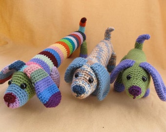 Fetch the Dog Crochet Amigurumi Pattern
