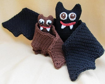 Batty Bat  Bundle Crochet Amigurumi Pattern